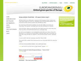 http://europeangreens.eu/greenvisionvoting/